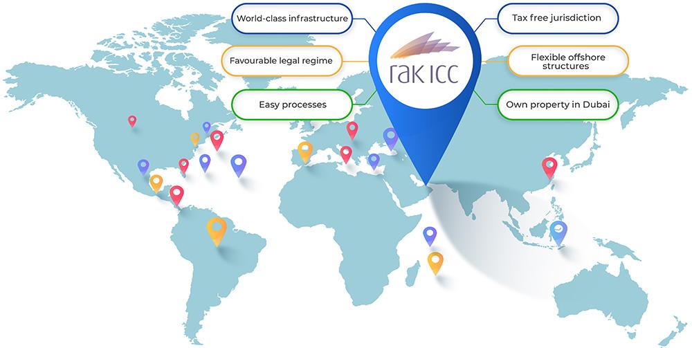 RAK ICC Top Jurisdiction in UAE
